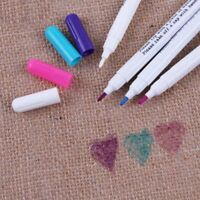 4pcs Water Erasable Pens Fabric Markers Soluble Cross Stitch Chalk Tool Pencil