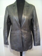 Real leather jacket by Milan,bronze/metalic size 12