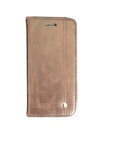Phone Book Case For Iphone 6/6S Leather Flip Cover Card Wallet Brown