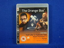ps3 ORANGE BOX The Game Half Life 2 Portal Team Fortress 2 PAL UK REGION FREE