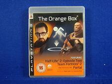 ps3 ORANGE BOX The Game Half Life 2 Portal Team Fortress 2 PAL UK REGION FREE