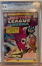 JUSTICE LEAGUE OF AMERICA #40 - CGC 9.4 - 3RD APPEARANCE SILVER AGE PENGUIN
