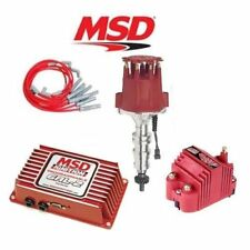 MSD 9256 Ignition Kit Programmable 6AL-2/Distributor/Wires/Coil Pontiac 326-455