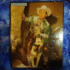 1956 Whitman's Roy Rogers Frame Tray Puzzle Vintage