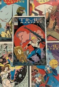 TIME MASTERS #1-8 Comic Book LOT FULL SERIES RIP HUNTER ADVENTURE DR FATE ARION