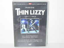 "*****DVD-THIN LIZZY""INSIDE THIN LIZZY 1971-1983""-2003 Classic Rock Product.*****"