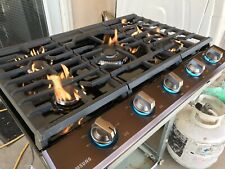 "36"" Samsung Cook Top Black stainless Steel"
