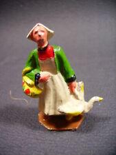 """DC  figurines plomb creux """" Bécassine """" (antique toys)"""
