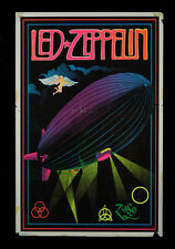 "Vintage Led Zeppelin Black Light Poster Replica 13 x 19"" Photo Print"