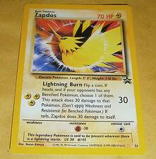 POKEMON BLACK STAR PROMO CARD - #23 ZAPDOS