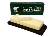 Ice Bear King Japanese Waterstone Polishing 10000 Grit 384033 + Nagura Stone