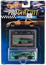 Hot Wheels Pro Circuit 1/64 Brett Bodine #26 Quaker State New On Card 1992