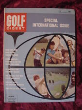 GOLF Digest magazine September 1964 Chi Chi Chichi Rodriguez Papwa Sewgolum