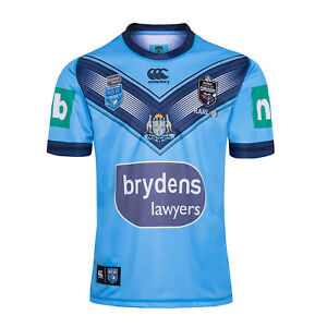 2020 New South Wales Blues Home Rugby Shirt Jersey