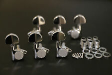 Free Shipping! Gotoh Machine Head Tuners SG301-20 CHROME L3/R3 Set Made in Japan