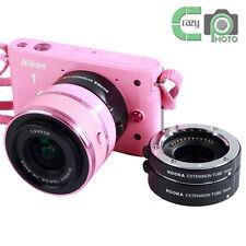 for Nikon 1 AF Auto Focus Close-up Macro Extension Tubes Set 10+16+21 KK-NM47A