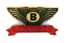 AUTO Pin / Pins - BENTLEY LE MANS WINNER 1929-31 [1257]