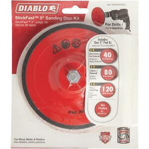 "Diablo 5""Drill Sanding Disc Kit"