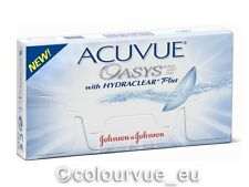 Acuvue OASYS Hydraclear PLUS 1×6 Stück - Non-Stop-Linsen 2-Wochenlinsen !
