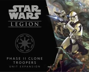 Star Wars: Legion - Phase II Clone Troopers Unit Expansion (New)