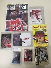 Michael Jordan collector 8 Lot; Magazine,Graded Card,Postcard Trading card GIFT