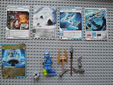 LEGO Ninjago  9553 - Jay ZX   kpl.  +  5 Original Trading Cards Spielkarten TOP