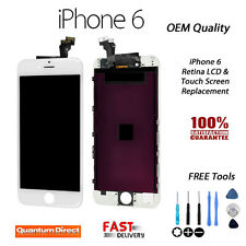 Genuine OEM Retina LCD & Digitiser Touch Screen Assembly FOR iPhone 6 WHITE