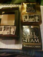 M. L. Baseball All Century Team Playing Cards Comm.  Limited Edition Tin NIB