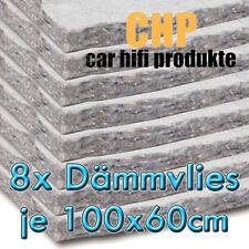 8x CHP Dämmvlies selbstklebend 8 Matten PKW Schalldämmung KFZ 10mm Vlies 4,8m²