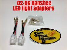 02-06 Yamaha Banshee Atv Led/aftermarket Light Adapters *plug N Play