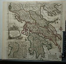 1748 -  Antique D'Anville Map of Greece 1741