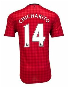 Nike Manchester United Home Jersey 2012-13 Red CHICHARITO #14 Men