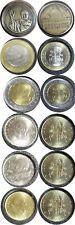 elf Vatican City 6 pc Unc set 2001  5 coins plus medal