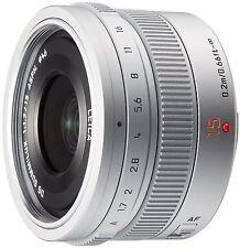 Panasonic LUMIX G LEICA DG SUMMILUX 15mm /F1.7 ASPH. H-X015-S Silver New