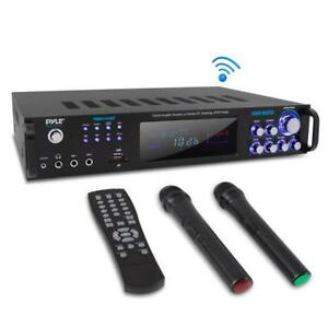 PWMA1003BT Bluetooth Amplifier Receiver & Microphone System Hybrid Pre-Amplifier