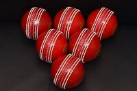 "Cricket ""Incrediballs"" Practice Balls [6 Pack] - Excellent -hand stitched"