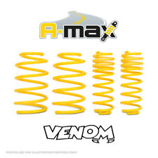 A-Max 50mm Sports Suspension Lowering Springs Kit Peugeot 106 GTi 16v (04.96-)