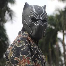 US SHIP Marvel BLACK PANTHER Mask Captain America Civil War Cosplay Prop Helmet