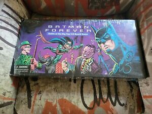 PARKER BROTHERS BATMAN FOREVER BATTLE AT THE BIG TOP 3-D BOARD GAME ***MIB***