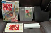 Racket Attack Tennis - NES Nintendo Game Original BOX Complete Manual Dust Cover