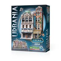 WREBBIT 3D JIGSAW PUZZLE URBANIA COLLECTION - CINEMA 300 PCS #W3D-0502