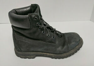 Timberland Lace-Up Boots, Black, Women's 8 M