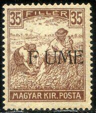 "Fiume 1918/19 n. 12d * varietà ""F UME"" (m2235)"