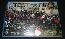 """""""Test of Fire - Bull Run 1861"""" by Mayfair Games - #4861 - Martin Wallace Sealed"""