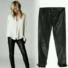New $898 Elin Kling for Marciano - Linn 100% Leather Pant size 0
