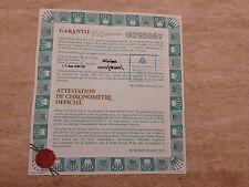 ROLEX 18ct & Steel Submariner 16613 Guarantee Papers 1991 UK