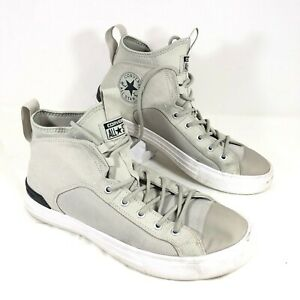GUC Men's Converse Chuck Taylor All Star Gray High Top Sneakers Sz 10