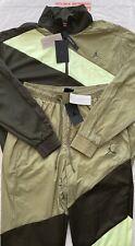 Chaqueta para Hombre Nike Jordan alas Diamante + pantalones chándal completo nuevo con etiquetas Med