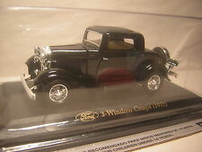 1/43  Ford 1932 3 Window Coupe