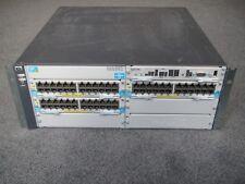 HP Aruba Switch E5406 zl J8697A Premium License J8994A 16.2F/w 3xJ9307A 2xJ9306A